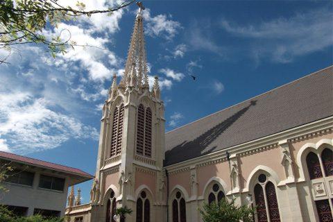 カトリック夙川教会でのコンサート